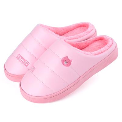 情侶厚底包跟棉拖鞋