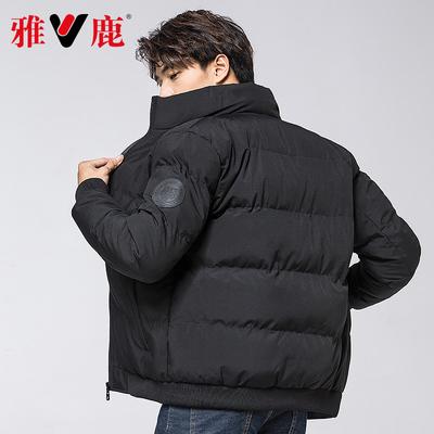 雅鹿韓版短款棉服外套