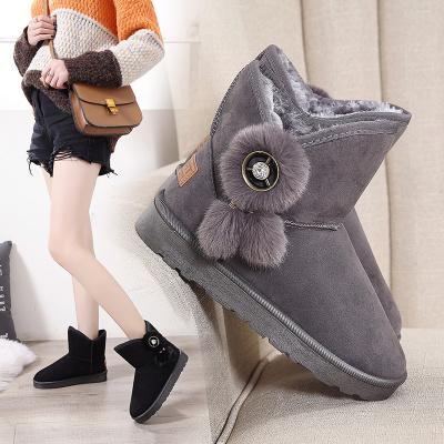 韓版短筒棉靴雪地靴