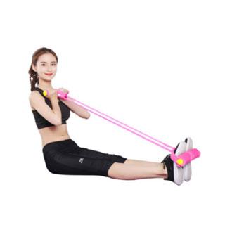 多功能瘦腰脚蹬拉力器