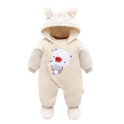 新生兒加厚保暖連體衣