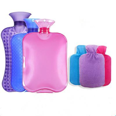 熱水袋注水暖水袋送絨布帶