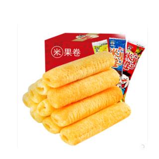 旺旺米果卷膨化食品