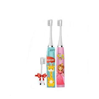 软毛儿童电动牙刷3个刷头