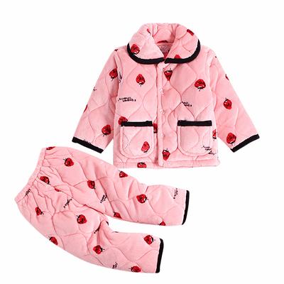 加厚法蘭絨兒童睡衣
