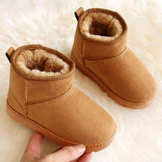 男童女童加絨加厚雪地靴