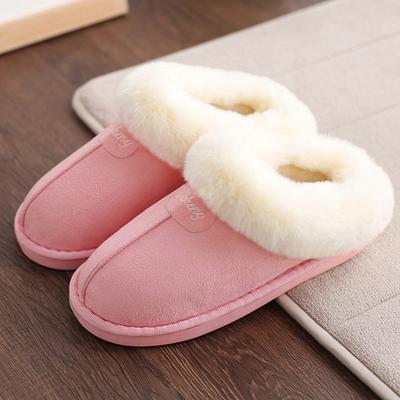 包跟厚底棉拖鞋