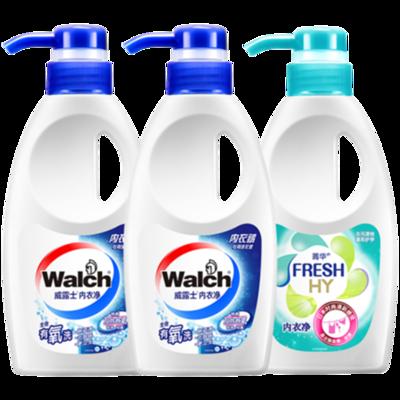 威露士内衣洗衣液3瓶