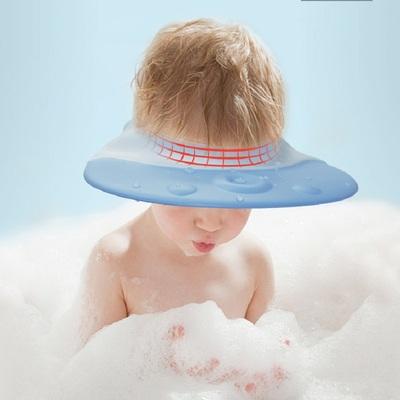 兒童洗頭帽防水護耳嬰