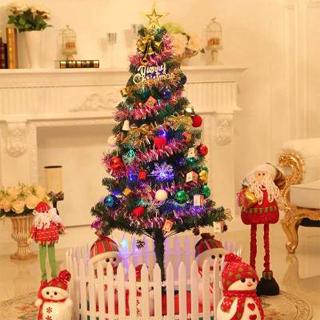 圣诞节装饰品1.5米仿真豪华圣诞树小型套餐套装家用摆件发光礼物