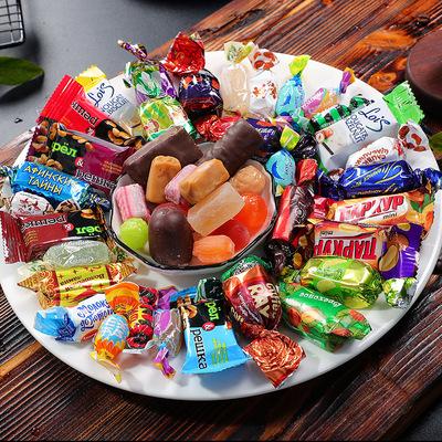 俄羅斯巧克力糖果500g