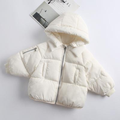 洋气短款女童棉服