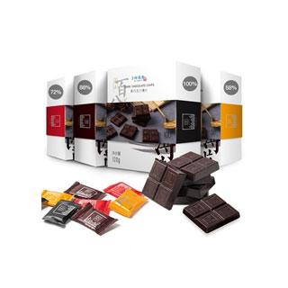 卜珂100%純黑巧克力禮盒