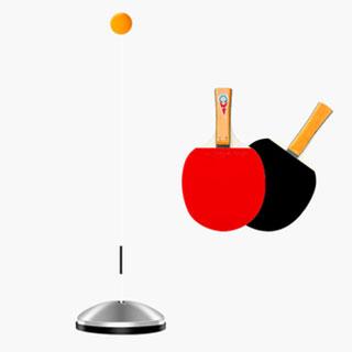 彈力軟軸乒乓球訓練器