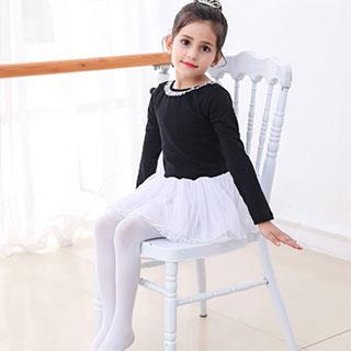 兒童舞蹈連褲打底襪3條