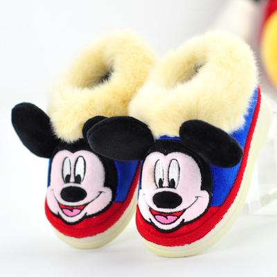 迪士尼兒童棉拖鞋