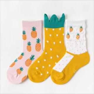 拍2超萌純棉中筒襪6雙