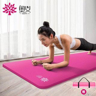 初学者健身舞蹈瑜伽垫