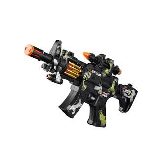 儿童电动声光仿真枪玩具