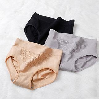日本立体暖宫蜂巢内裤2条