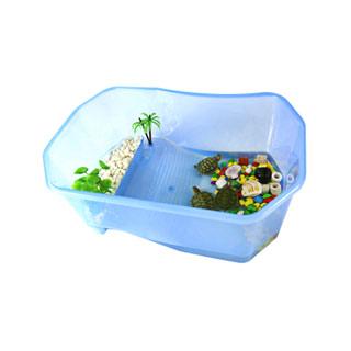 带晒台宠物养龟专用缸
