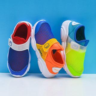 夏季运动鞋镂空小熊单网鞋