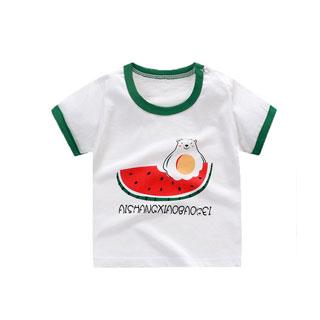 拍2 100%纯棉儿童T恤
