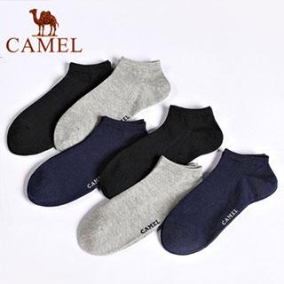 骆驼男女袜子6双装