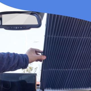 汽车遮阳帘自动伸缩