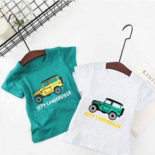 拍2儿童纯棉短袖T恤2件