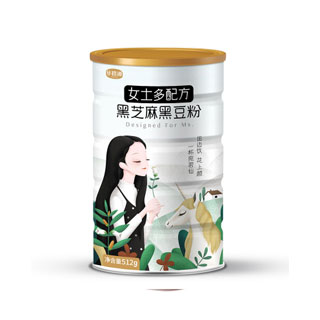 黑芝麻糊核桃粉600g