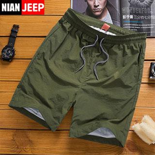 吉普盾运动休闲男短裤