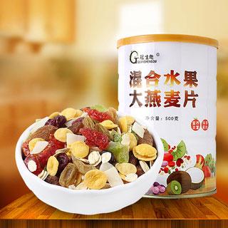 水果即食冲饮燕麦片500g