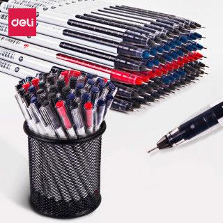 全针管大容量中性笔十二支装