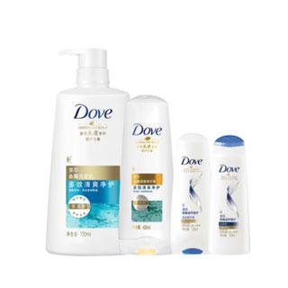 多芬洗发水+护发素2.6斤