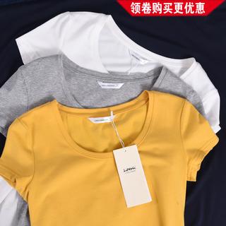 短袖t恤纯棉打底衫