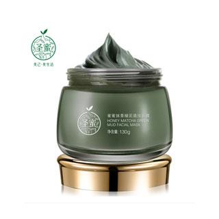 圣蜜抹茶绿泥 面膜130g