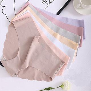 薄款无痕纯色内裤