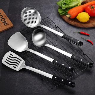 304不锈钢铲子汤勺厨具套装