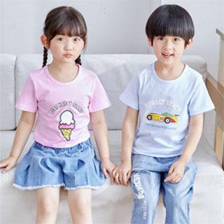 儿童纯棉短袖t恤