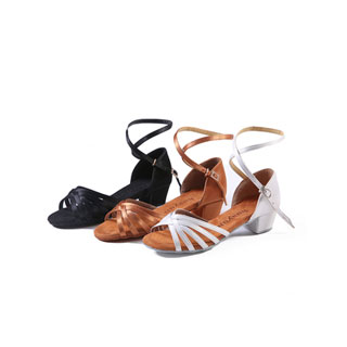 中跟舞蹈练功鞋拉丁舞鞋