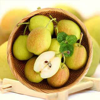 香梨梨子新鲜带箱10斤