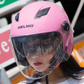 四季通用电动摩托车头盔