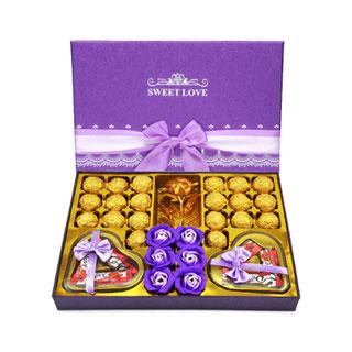 德芙巧克力礼物礼盒装