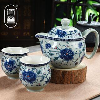 陶瓷简约功夫茶具