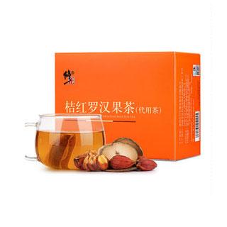 修正橘红栀子茶罗汉果茶