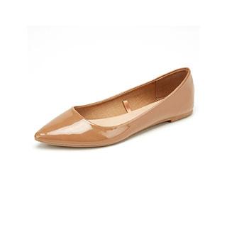 塞斯貝拉尖頭淺口平底鞋