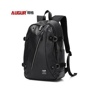 軟皮旅行潮牌學生背包書包