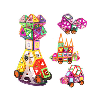 磁力片積木兒童玩具拼裝貼