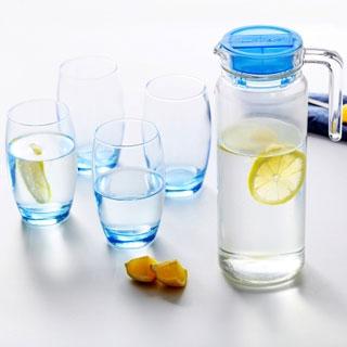 凝彩冷水壺水杯5件套